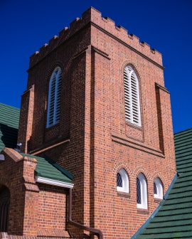 Bell tower, First Presbyterian Church, Littleton CO