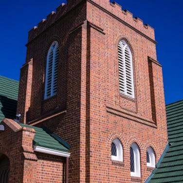 Bell tower, First Presbyterian Church, Littleton CO