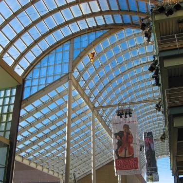 Barrel arch framework, DCPA, Denver CO