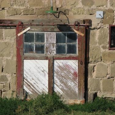 Stone barn, Holy Cross Abbey, Canon City CO