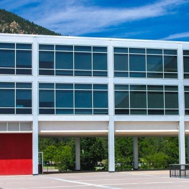 East face Howell Hall, AFA, Colorado Springs CO